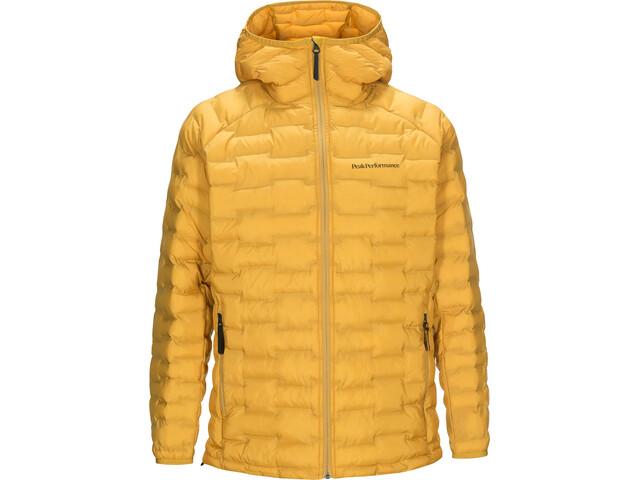 Yhdistynyt kuningaskunta uudet tyylit paras hinta Peak Performance Argon Light Hood Jacket Men smudge yellow